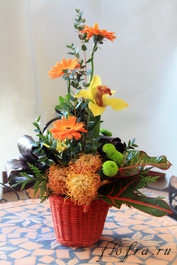 композиция аранжировка кемерово цветочная своими руками букет