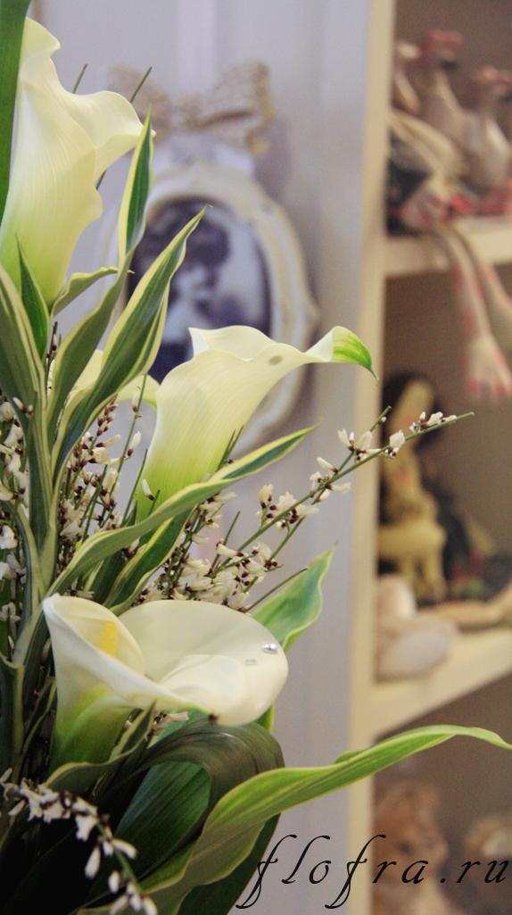 флористика кемерово аранжировка букет каллы цветы интерьер