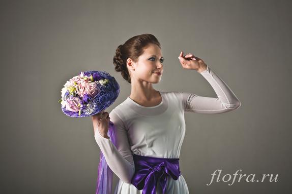 букет невеста кемерово флористика цветы сереневый день невест стиль