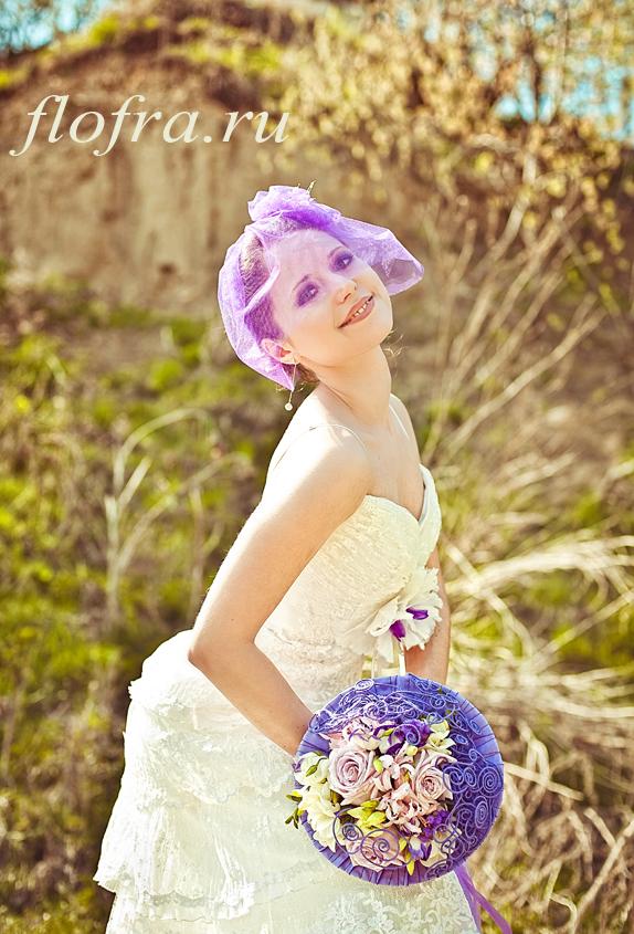 невеста конкурс цветы букет кемерово день невест сереневый фиолетовый