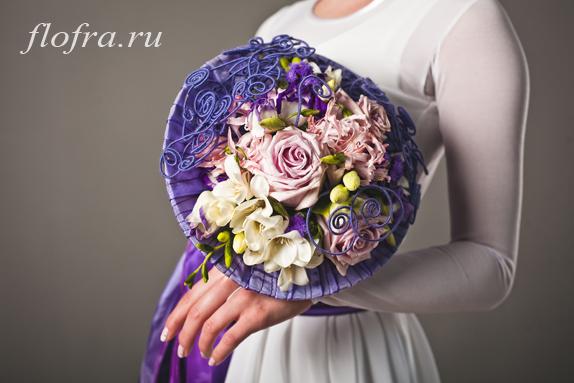 букет невеста кемерово день невест конкурс фиолетовый цвет цвета стиль