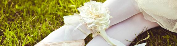 украшение цветок букет невесты свадьба кемерово гламелия подвязка