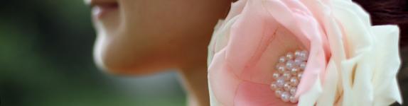 украшение причёски заколка цветок тренд лета кемерово невеста свадьба