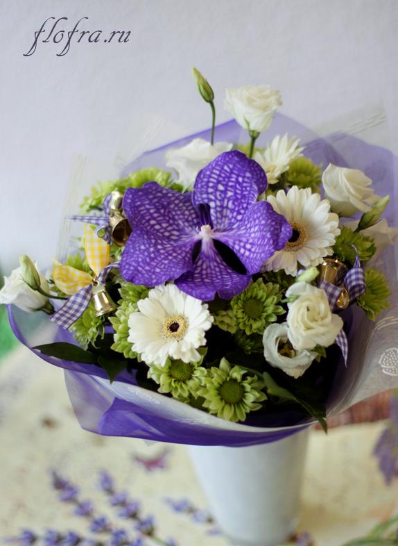 цветок для ребёнка подарок букет цветов кемерово флористика композиция