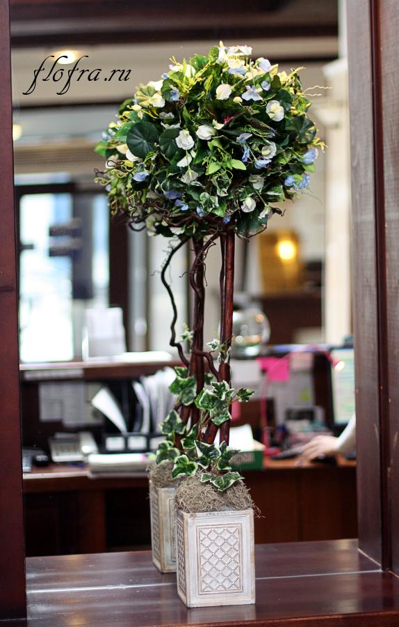 Декоративное дерево в интерьере