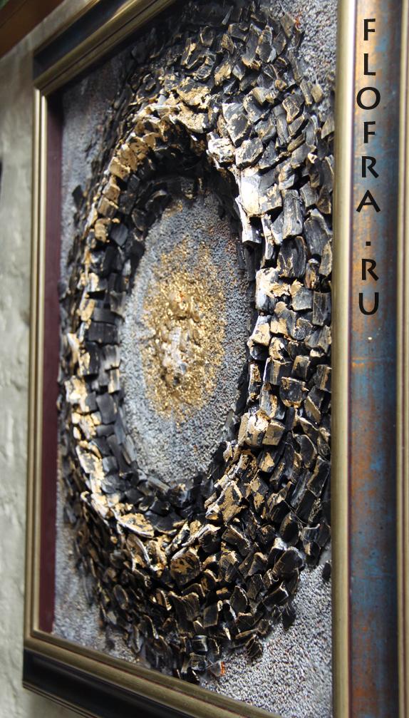 подарок уголь кемерово день шахтёра авторская работа www.flofra.ru