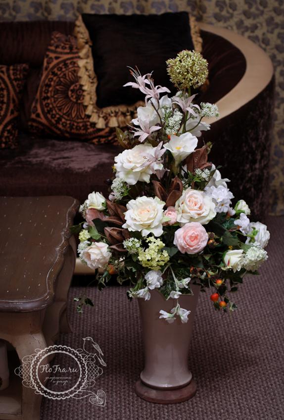 цветы кемерово флористика прованс аранжировка flofra.ru