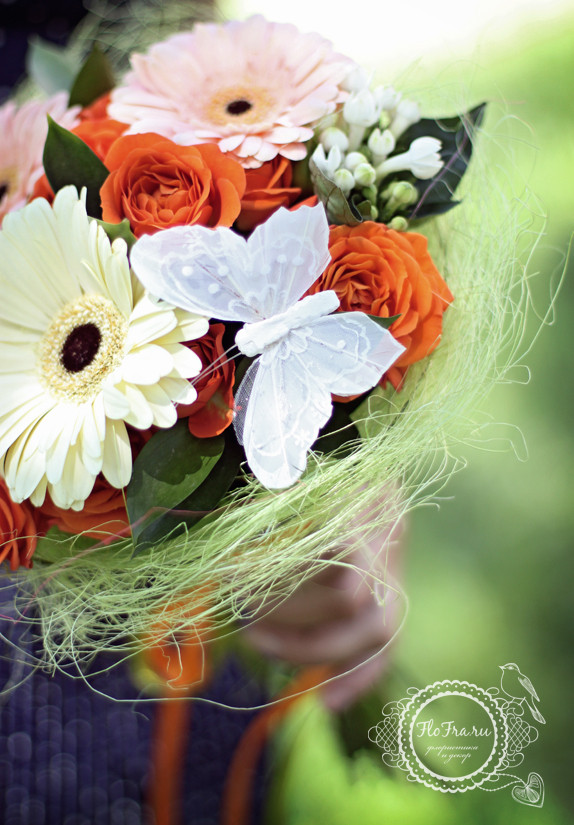 букет цветов флористика кемерово подарок летний.2