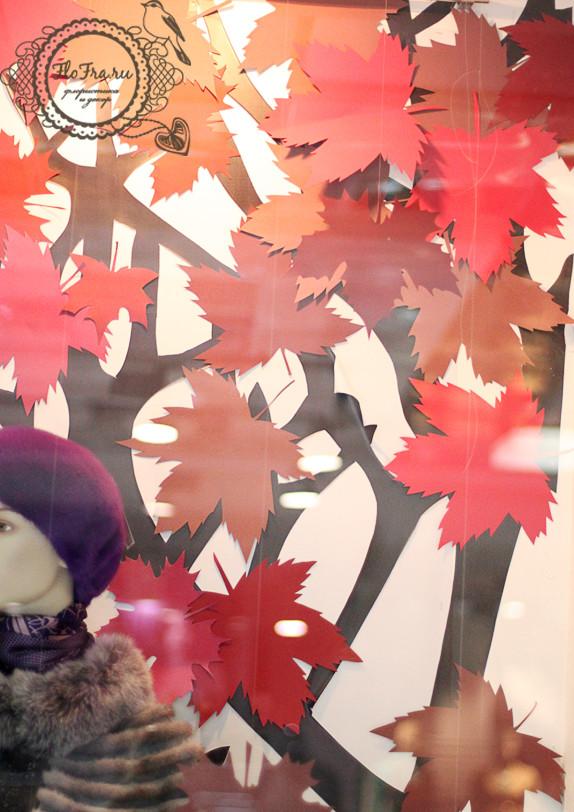витрина магазина на заказ кемерово оформление  сезонная www.flofra.ru.jpg 9