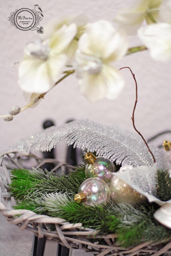 цветочное украшение новый год витрина магалин подарок презент дизайн аранжировка цветы флористика www.flofra.ru.jpg 4