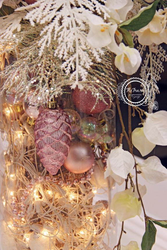 витрина новый год украшение дизайн флористика цветы кемерово дизайн интерьер ваза www.flofra.ru.jpg 10