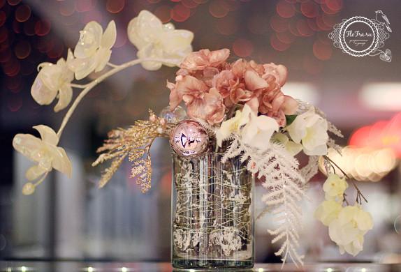 витрина новый год украшение дизайн флористика цветы кемерово дизайн интерьер ваза www.flofra.ru.jpg 4