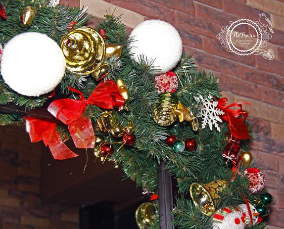украшение новый год ресторана кафе кемерово комплексное дизайн декор флористика www.flofra.ru.jpg 10