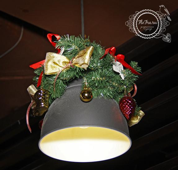 украшение новый год ресторана кафе кемерово комплексное дизайн декор флористика www.flofra.ru.jpg 3