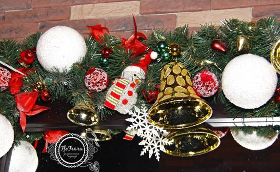 украшение новый год ресторана кафе кемерово комплексное дизайн декор флористика www.flofra.ru.jpg 4