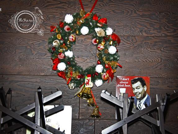 украшение новый год ресторана кафе кемерово комплексное дизайн декор флористика www.flofra.ru.jpg 7