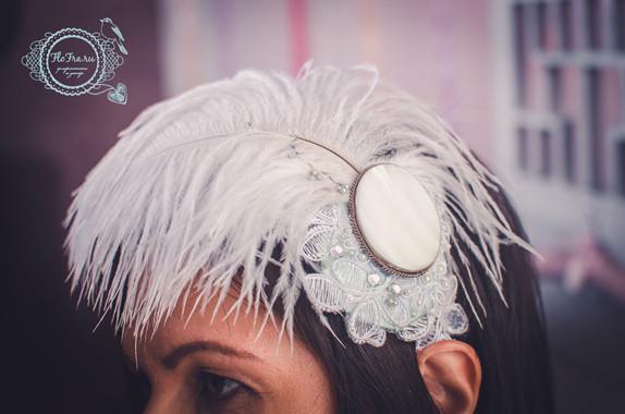 тематическая свадьба в стиле кемерово флористика букет невесты бирюзовая украшение причёски www.flofra.ru.jpg 3