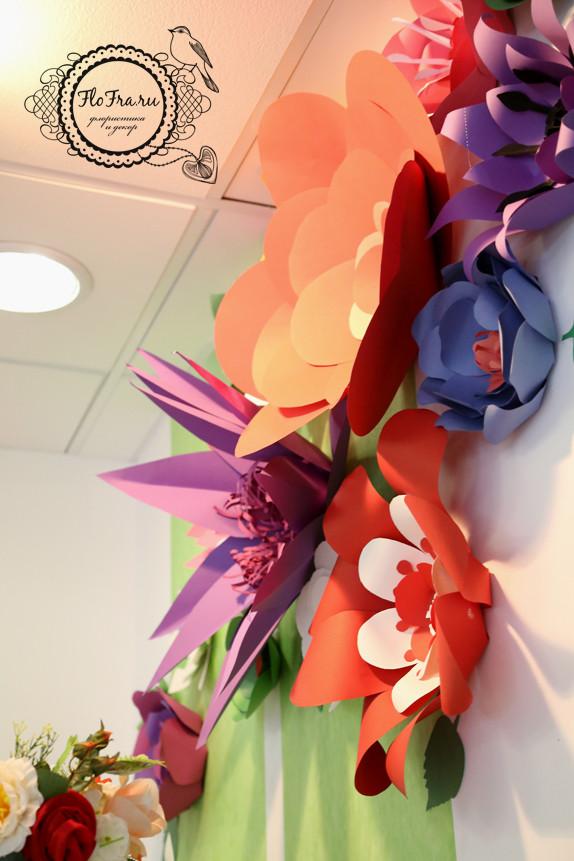 декор витрина флористика дизайн кемерово бумага цветы птицы на заказ www.flofra.ru оформление украшение.jpg8