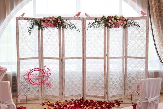 свадьбы тематическая украшение цветы флористика декор дизайн кемерово птичья www.flofra.r5