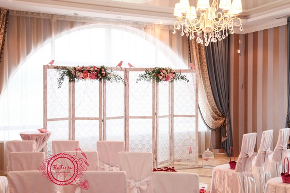 свадьбы тематическая украшение цветы флористика декор дизайн кемерово птичья www.flofra.r6