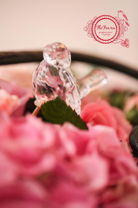 свадьбы тематическая украшение цветы флористика декор дизайн кемерово птичья www.flofra.ru 2