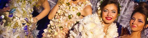 украшение модели стабилизированные цветы флористика декор оформление шоу цветами кемерово юбилей компании www.flofra.ru8