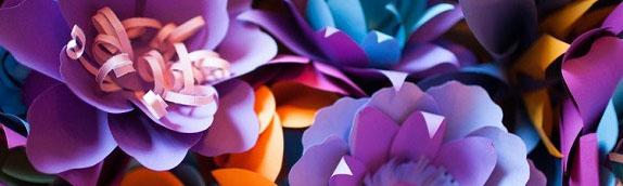 Мастер класс бумажный Арт Кемерово цветы из бумаги украшение декор www.flofra.ru33