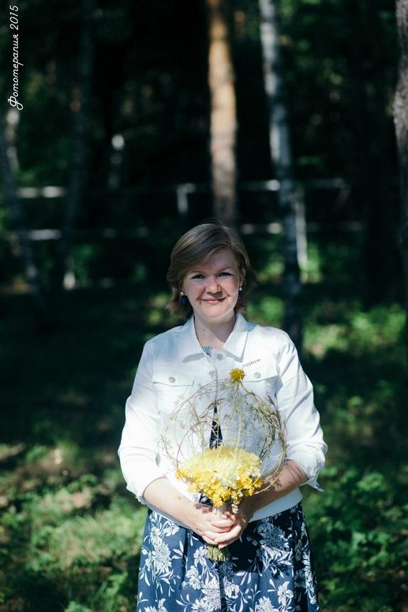 обученик флористика Кемерово кузбасс мастер-класс цветы букеты букет учёба www.flofra.ru лето семинар15
