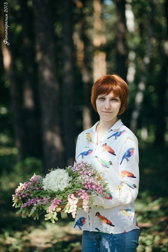 обученик флористика Кемерово кузбасс мастер-класс цветы букеты букет учёба www.flofra.ru лето семинар16