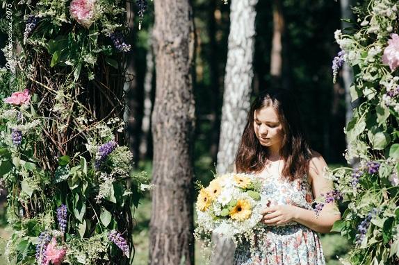 обученик флористика Кемерово кузбасс мастер-класс цветы букеты букет учёба www.flofra.ru лето семинар9