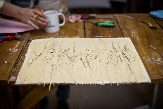 обучение флористики Кемерово цвты декор дизайн коллаж терра кузбасс мастер-класс по коллажам www.flofra.ru3