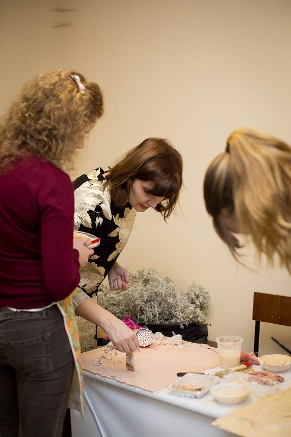 обучение флористики Кемерово цвты декор дизайн коллаж терра кузбасс мастер-класс по коллажам www.flofra.ru7