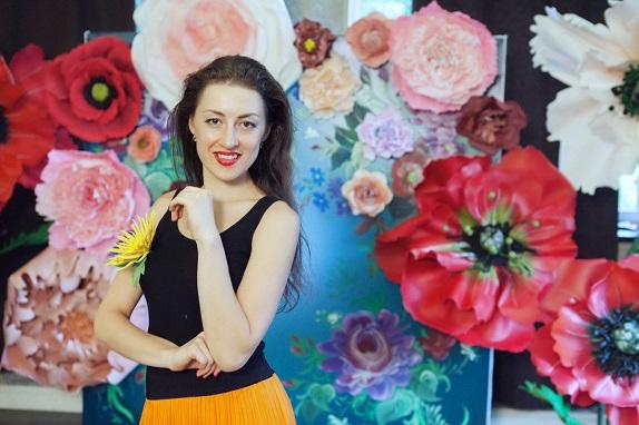 курс по гигантским цветам Кемерово витрина вадьба фотозона украшение ростовыми цветами флористика цветы www.flofra.ru 21