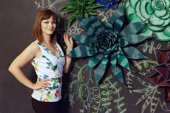 курс по гигантским цветам Кемерово витрина вадьба фотозона украшение ростовыми цветами флористика цветы www.flofra.ru 27