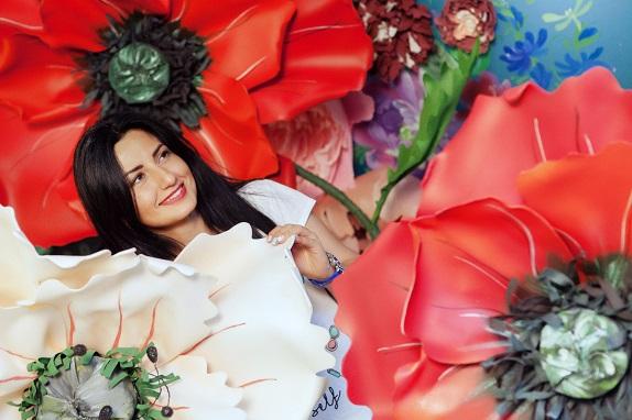 курс по гигантским цветам Кемерово витрина вадьба фотозона украшение ростовыми цветами флористика цветы www.flofra.ru 34