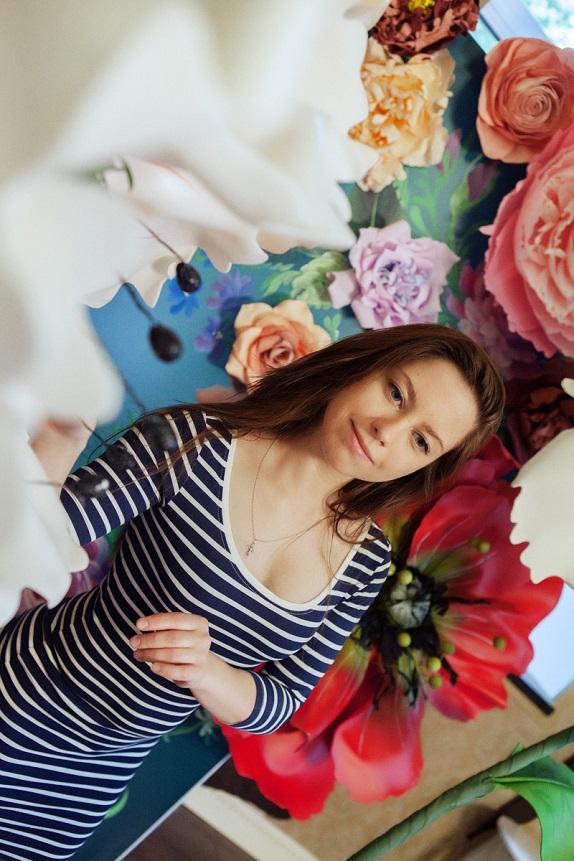 курс по гигантским цветам Кемерово витрина вадьба фотозона украшение ростовыми цветами флористика цветы www.flofra.ru 36