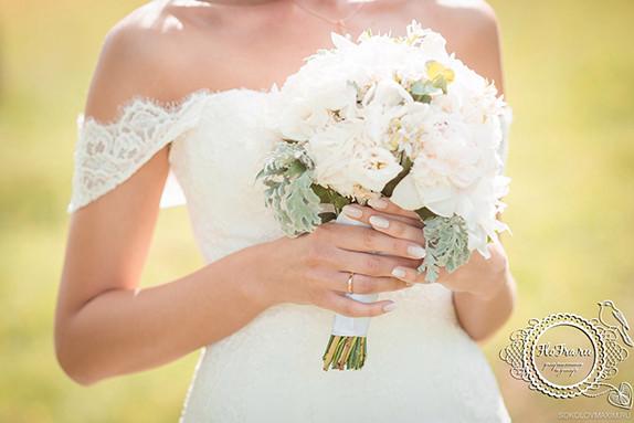 флористика букет невесты