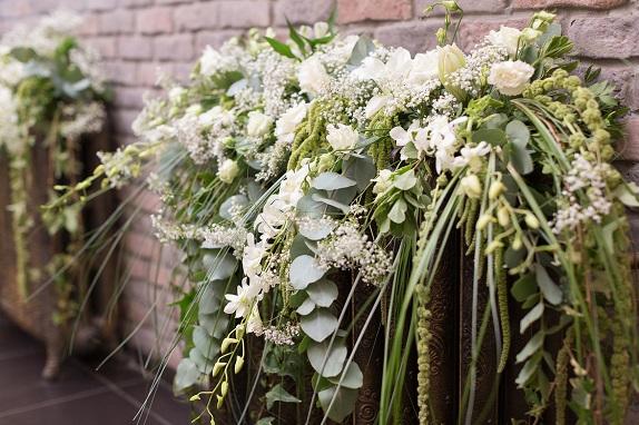 18 цветы кемерово кузбасс флористика свадьба невеста декор президиум композиции www.flofra.ru