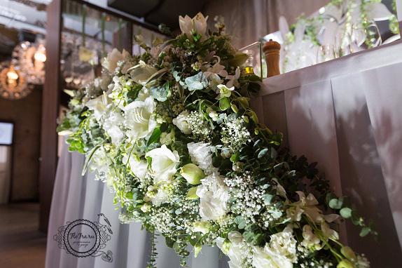 25 цветы кемерово кузбасс флористика свадьба невеста декор президиум композиции www.flofra