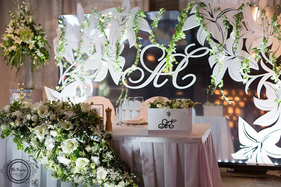 4 цветы кемерово кузбасс флористика свадьба невеста декор президиум композиции www.flofra