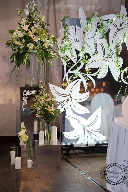 8 цветы кемерово кузбасс флористика свадьба невеста декор президиум композиции www.flofra