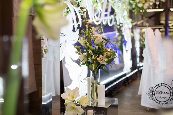 9 цветы кемерово кузбасс флористика свадьба невеста декор президиум композиции www.flofra